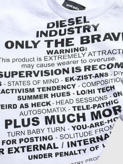 Diesel - TDIEGOS3B-R, Blanc - T-shirts et Hauts - Image 3