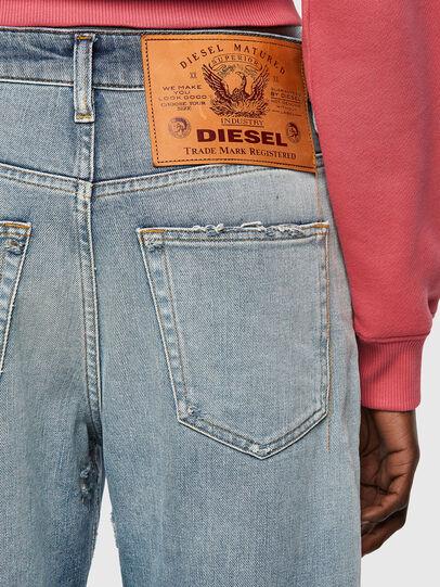 Diesel - D-Reggy 09A04, Bleu Clair - Jeans - Image 3