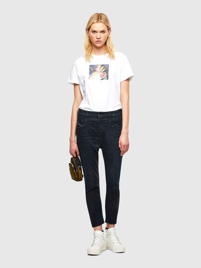 Diesel - Fayza JoggJeans® 069RW, Blu Scuro - Jeans - Image 5