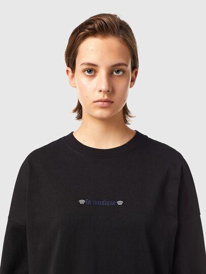 Diesel - T-BLONG, Noir - T-Shirts - Image 3
