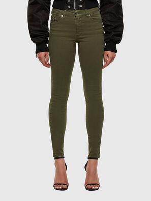 D-Roisin 0096H, Armeegrün - Jeans