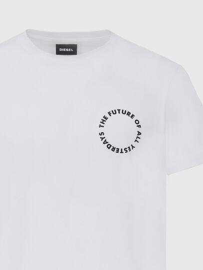 Diesel - T-DIEGOS-X46, Weiß - T-Shirts - Image 3