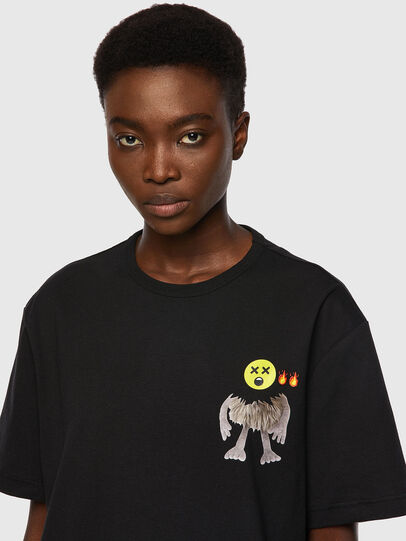 Diesel - T-BOYISH, Noir - T-Shirts - Image 3