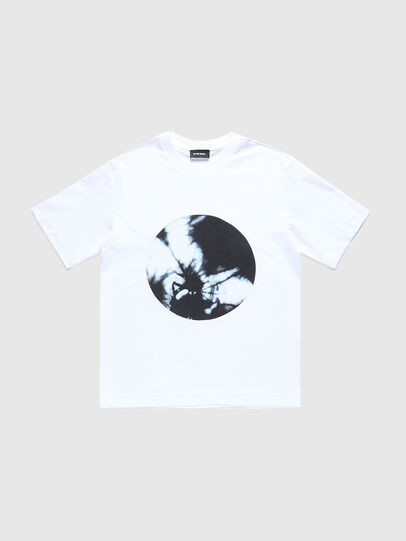 Diesel - TMOONYX2 OVER, Blanc - T-shirts et Hauts - Image 1