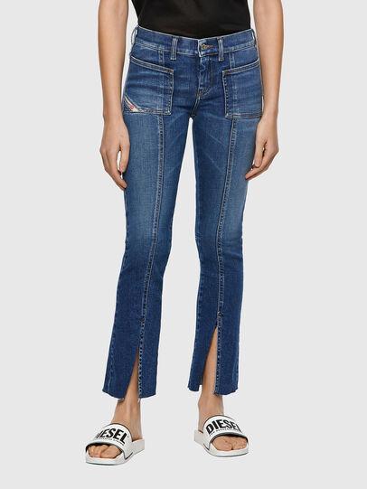 Diesel - Slandy 009ZW, Blu medio - Jeans - Image 1