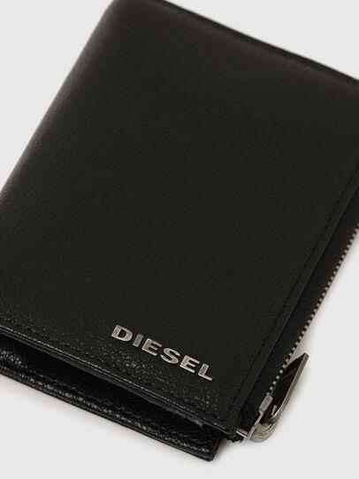 Diesel - L-12 ZIP, Noir/Bleu - Petits Portefeuilles - Image 5