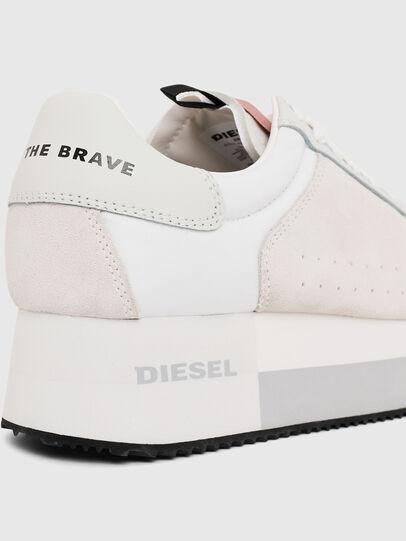 Diesel - S-PYAVE WEDGE, Weiß/Rosa - Sneakers - Image 4