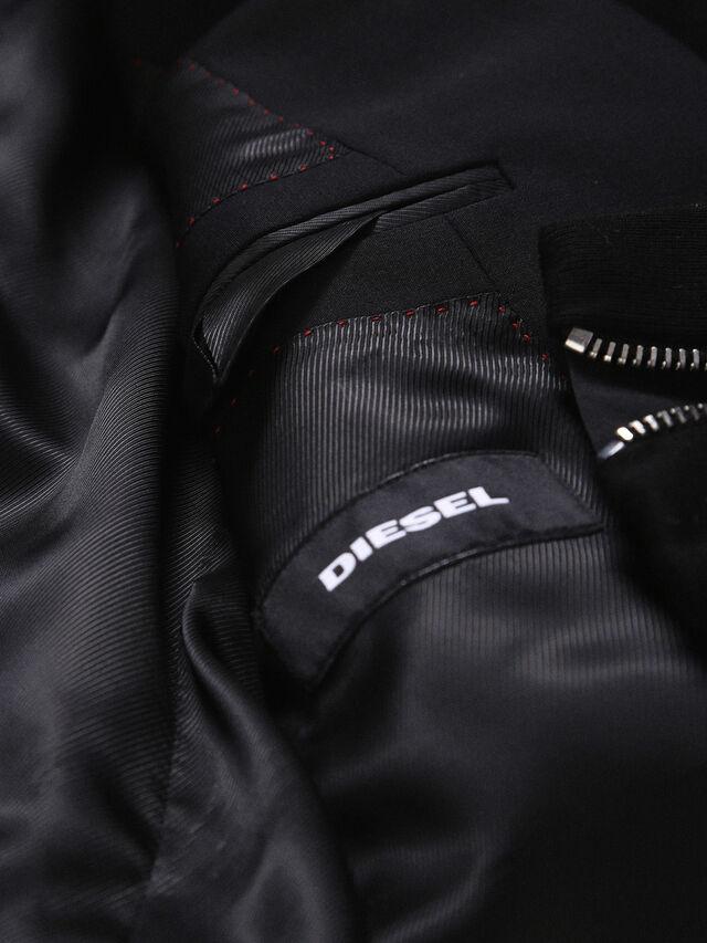 Diesel - DVL-BLAZER-HOOD-RE, Schwarz - Jacken - Image 8