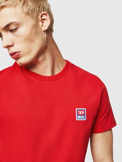 Diesel - T-DIEGO-DIV, Feuerrot - T-Shirts - Image 3