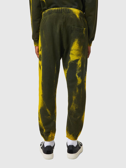 Diesel - P-CALTON-RIB-B1, Jaune/Vert - Pantalons - Image 3