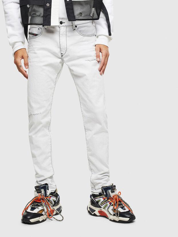 D-Strukt 003Z1, Weiß - Jeans