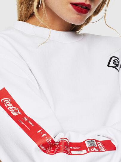 Diesel - CC-S-BAY-COLA, Weiß - Sweatshirts - Image 5