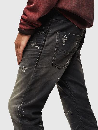 Diesel - Krooley JoggJeans 084AE, Schwarz/Dunkelgrau - Jeans - Image 4