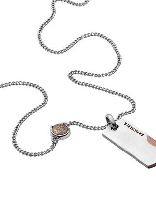 NECKLACE DX1078, Silber