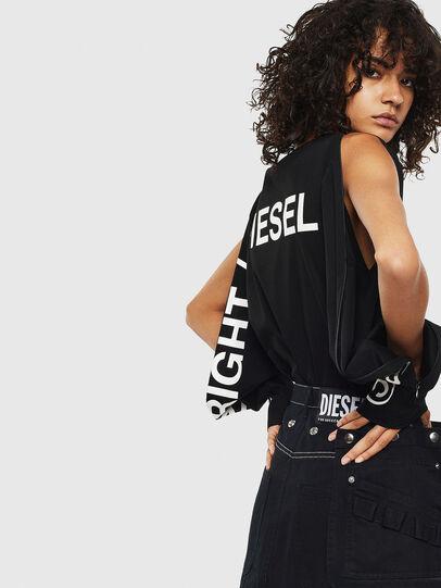 Diesel - T-ROSY, Schwarz - T-Shirts - Image 4
