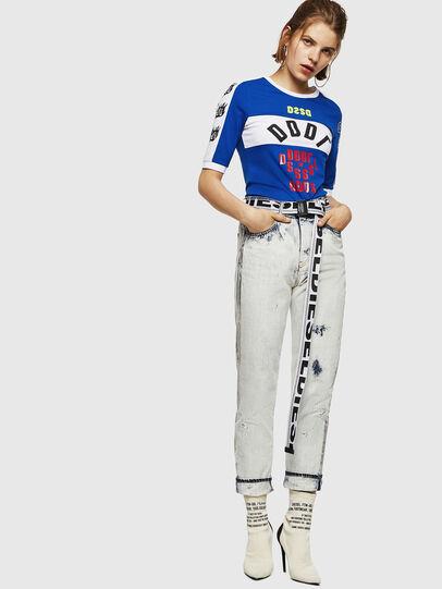 Diesel - T-HEIA-B, Brillantblau - T-Shirts - Image 5