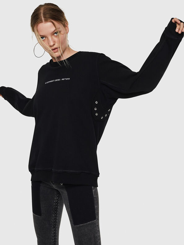 F-LYANY-F, Schwarz - Sweatshirts