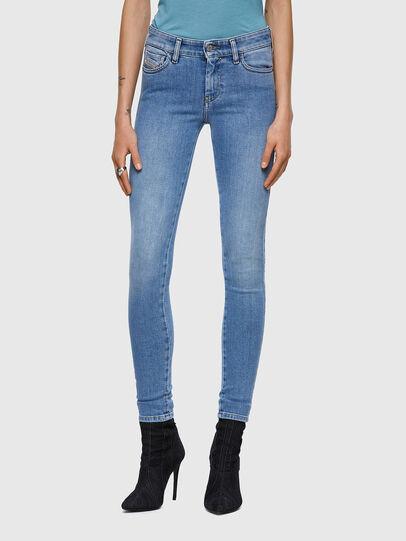 Diesel - Slandy 009ZY, Bleu Clair - Jeans - Image 1