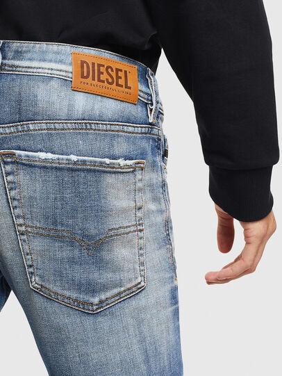 Diesel - Sleenker 009AF, Mittelblau - Jeans - Image 4