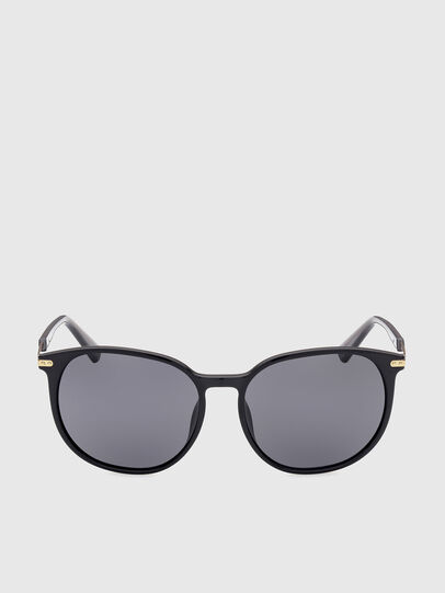 Diesel - DL0353, Black/Yellow - Sunglasses - Image 1