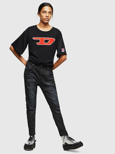 Diesel - Fayza JoggJeans 069GP, Schwarz/Dunkelgrau - Jeans - Image 5