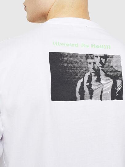 Diesel - T-JUSTLY, Weiß - T-Shirts - Image 4