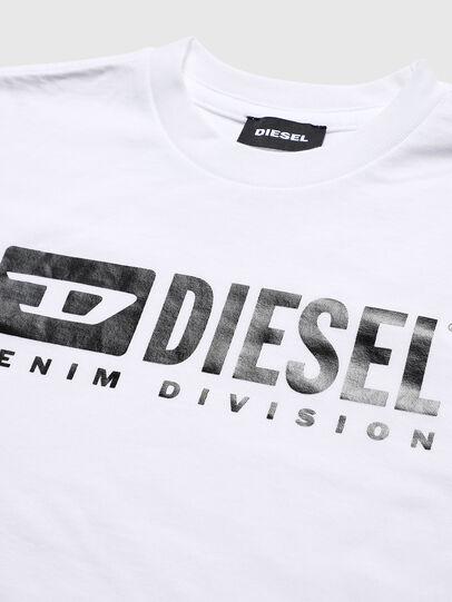 Diesel - TJDIVISION, Weiß - T-Shirts und Tops - Image 3