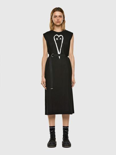 Diesel - D-FAIRY, Black - Dresses - Image 6