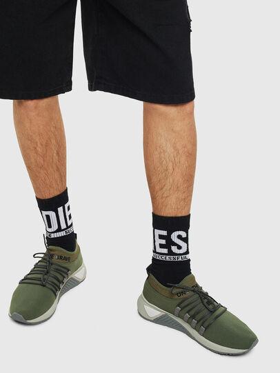 Diesel - S-KB SLG, Olivgrün - Sneakers - Image 6