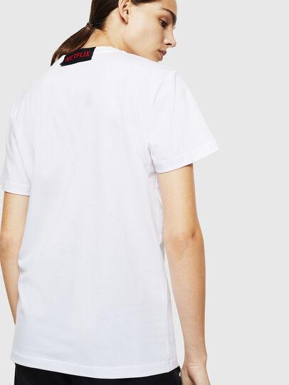 Diesel - LCP-T-DIEGO-NAIROBI, Weiß - T-Shirts - Image 4