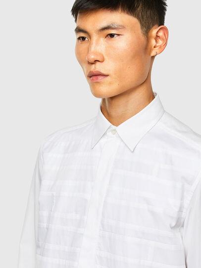 Diesel - S-WEIR, Blanc - Chemises - Image 3