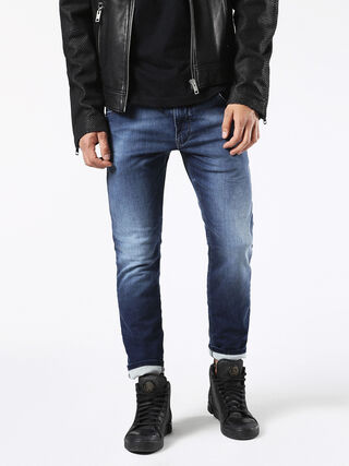 KROOLEY LONG JOGGJEANS 0674Y, Jeansblau