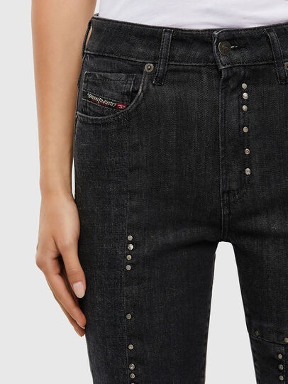 Diesel - D-Joy 009KY, Black/Dark grey - Jeans - Image 3