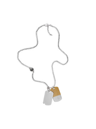 NECKLACE DX1055, Silber