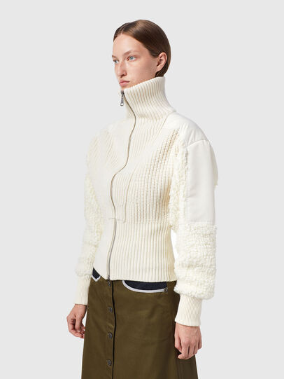 Diesel - M-WISCONSIN, Blanc - Pull Maille - Image 4