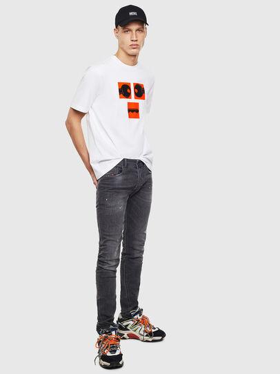 Diesel - T-JUST-T23, Weiß - T-Shirts - Image 2