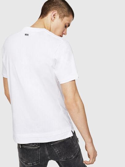 Diesel - T-CHERUBIK-NEW, Weiß - T-Shirts - Image 2