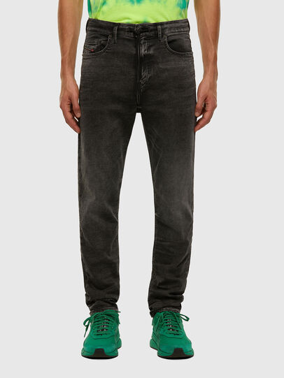 Diesel - D-VIDER JoggJeans® 009FZ, Schwarz/Dunkelgrau - Jeans - Image 1