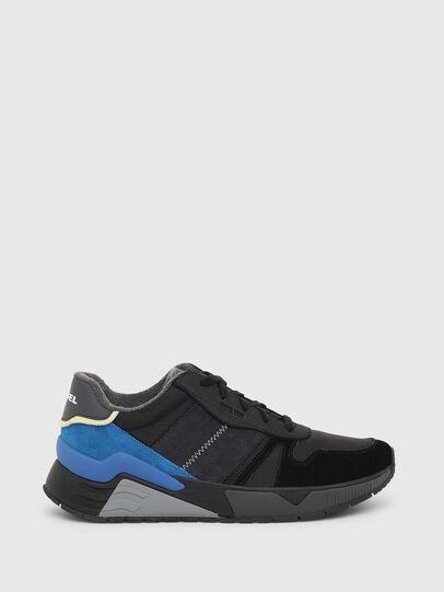 Diesel - S-BRENTHA FLOW, Schwarz/Blau - Sneakers - Image 1