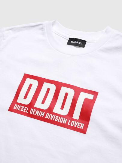 Diesel - TJUSTA9, Weiß - T-Shirts und Tops - Image 3