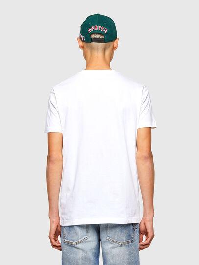 Diesel - CL-T-DIEGOS-O2, Blanc - T-Shirts - Image 3