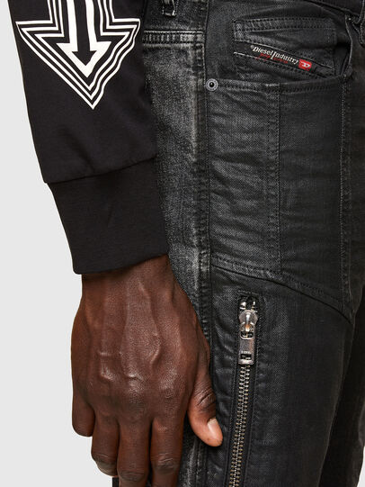 Diesel - D-Vider 009QZ, Noir/Gris foncé - Jeans - Image 5