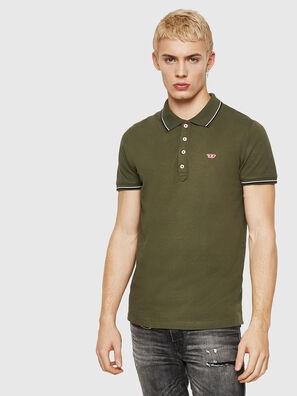 T-RANDY-NEW, Armeegrün - Polohemden