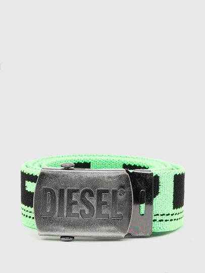 Diesel - BOXXY, Vert Fluo - Ceintures - Image 1