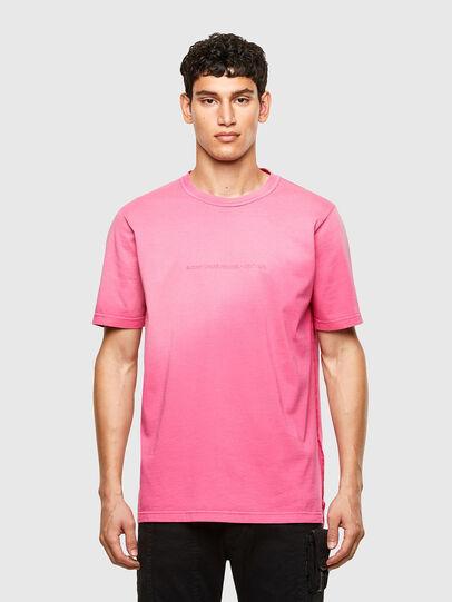 Diesel - T-JUBIND-SLITS-A1, Rosa - T-Shirts - Image 1
