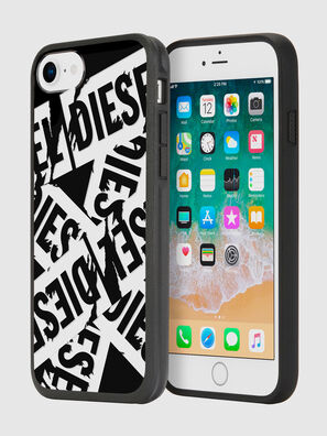 MULTI TAPE BLACK/WHITE IPHONE 8/7/6S/6 CASE,  - Schutzhüllen