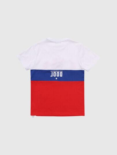 Diesel - TJUSTA1, Weiß/Rot/Blau - T-Shirts und Tops - Image 2