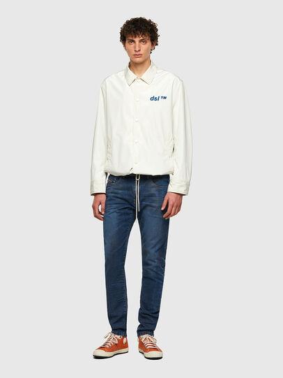 Diesel - D-Strukt JoggJeans® 069WP, Bleu Foncé - Jeans - Image 5