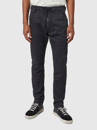 Diesel - Krooley JoggJeans® 069WB, Noir/Gris foncé - Jeans - Image 1