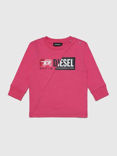 Diesel - TDIEGOCUTYB-FL ML, Rose - T-shirts et Hauts - Image 1